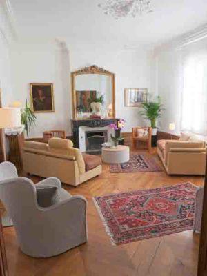 Le salon - La Maison Jules - Chambres d'hôtes Tours