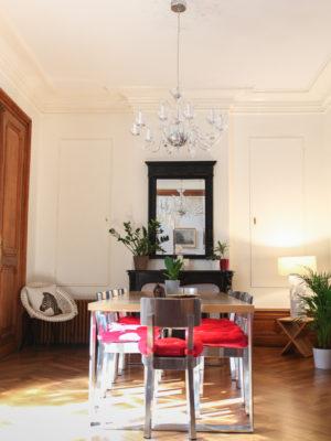 Salle petit déjeuner - La Maison Jules - Chambres d'hôtes à Tours-32