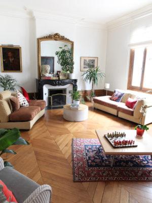 Salon - La Maison Jules - Chambres d'hôtes à Tours-26