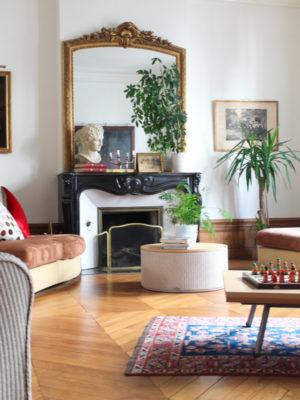 Salon - La Maison Jules - Chambres d'hôtes à Tours-31